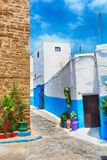 Oudaya rabat Marrocos Fotografia de Stock Royalty Free