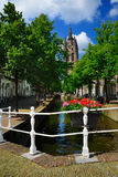 Oude 1月(老约翰)在德尔福特,荷兰 免版税库存图片