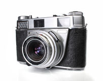 Oude 35mm camera Royalty-vrije Stock Afbeeldingen