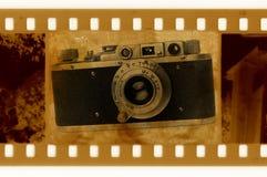 Oude 35mm frame foto vector illustratie