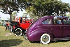 Oude aangepaste auto Royalty-vrije Stock Afbeelding