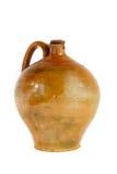 Oude aardewerkkruik voor wijn Royalty-vrije Stock Foto