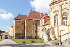Oude Abbey Prefacture Stock Foto