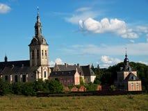 Oude abdij in Leuven stock foto's