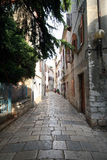 Oude Adriatische stad 19 stock fotografie