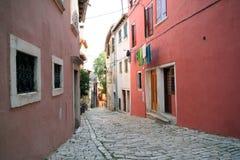 Oude Adriatische stad 2 royalty-vrije stock afbeelding
