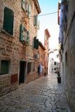 Oude Adriatische stad 23 royalty-vrije stock afbeelding