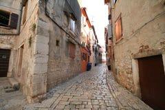 Oude Adriatische stad 24 stock foto