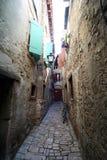 Oude Adriatische stad 27 royalty-vrije stock afbeelding