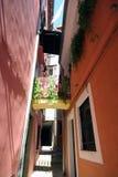 Oude Adriatische stad 33 royalty-vrije stock foto