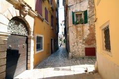 Oude Adriatische stad 4 stock foto's
