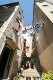 Oude Adriatische stad 5 stock fotografie