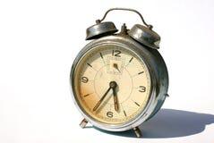 Oude alarm-klok royalty-vrije stock foto's