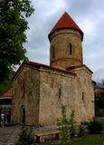 Oude Albanese Kerk in Azerbeidzjan Royalty-vrije Stock Afbeelding