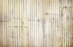Oude ambachten grungy achtergrond, de omheining van het aardbamboe in de textuur van weefselpatronen stock afbeelding