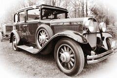 Oude Amerikaanse auto Stock Afbeelding