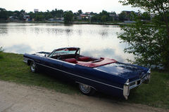 Oude Amerikaanse auto Stock Foto