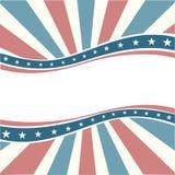 Oude Amerikaanse =Background van Kleuren Royalty-vrije Illustratie