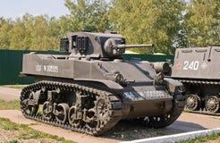 Oude Amerikaanse tank Stock Fotografie