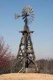 Oude Amerikaanse Windmolen Royalty-vrije Stock Afbeeldingen