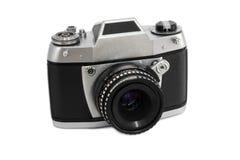 Oude analoge fotocamera Stock Foto