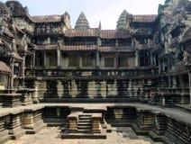Oude Angkor Wat Royalty-vrije Stock Afbeelding