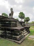 Oude Angkor Wat Royalty-vrije Stock Foto's