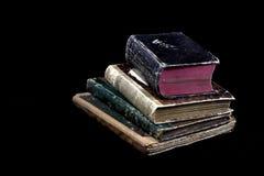 Oude antieke boeken Royalty-vrije Stock Afbeeldingen