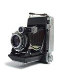 Oude antieke camera royalty-vrije stock foto