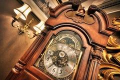 Oude antieke klok Royalty-vrije Stock Fotografie