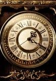Oude antieke klok Royalty-vrije Stock Foto