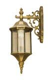 Oude antieke uitstekende lampen Stock Foto's