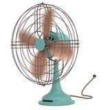 Oude antieke ventilator Royalty-vrije Stock Foto