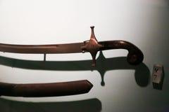 Oude antiquiteiten - het Museum van Sharjah Royalty-vrije Stock Fotografie