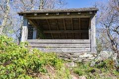 Oude Appalachian Sleephut stock foto