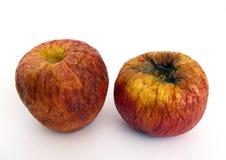Oude appelen Royalty-vrije Stock Afbeeldingen
