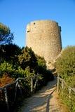 Oude aragon toren Stock Afbeelding