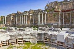 Oude archeologische plaats aan Kant, Turkije Royalty-vrije Stock Foto's