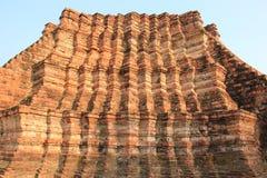 Oude Architectuur bij Watlokayasutharam-Tempel in Ayudhaya, Th Royalty-vrije Stock Afbeeldingen