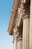 Oude architectuur in Rome, Italië. Royalty-vrije Stock Foto