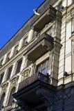 Oude architectuur van het Nevsky-vooruitzicht in heilige-Petersburg, Rusland stock fotografie