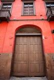 Oude architectuur van Lima, Peru. Royalty-vrije Stock Fotografie