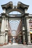 Oude architectuur van Lima, Peru. Stock Afbeelding