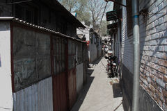 Oude architectuur van Peking Royalty-vrije Stock Foto's
