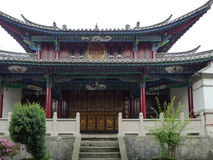 Oude architectuur in yunnan heshunstad, China Stock Afbeeldingen