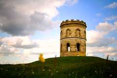 Oude atmosferische toren Stock Afbeelding