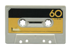 Oude audiocassette Stock Afbeelding