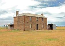 Oude Australische bluestonehoeve Stock Fotografie