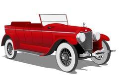 Oude auto Vector Illustratie