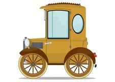 Oude auto royalty-vrije illustratie